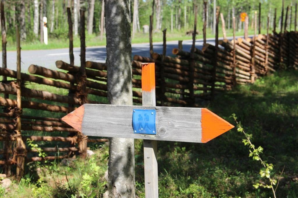 Vaggeryds kommun / Charlotta, Hikingtracks in Vaggeryds municipality.