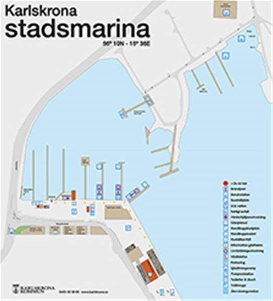 RV-parking Karlskrona City Marina