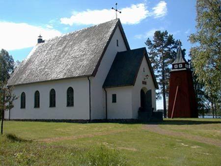 Musik i sommarkväll i Siknäs kyrka