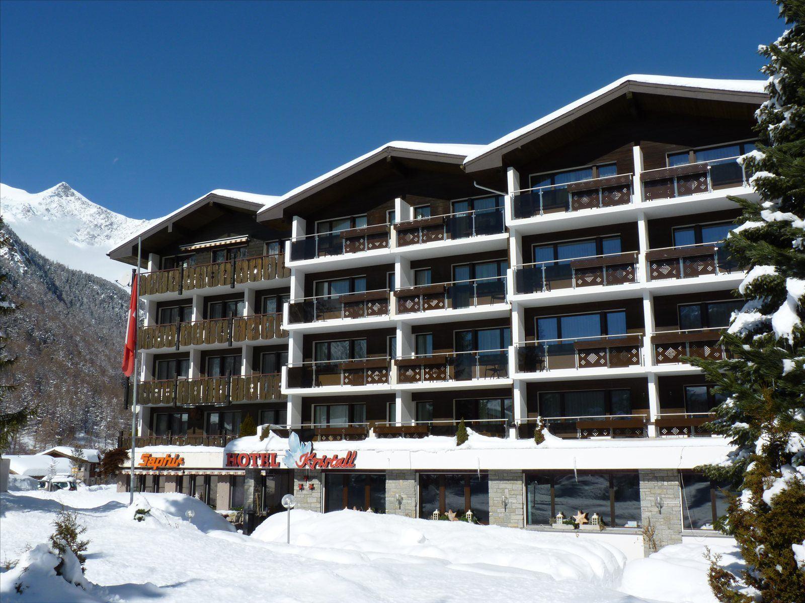 Hotel Kristall Saphir - Saas-Almagell