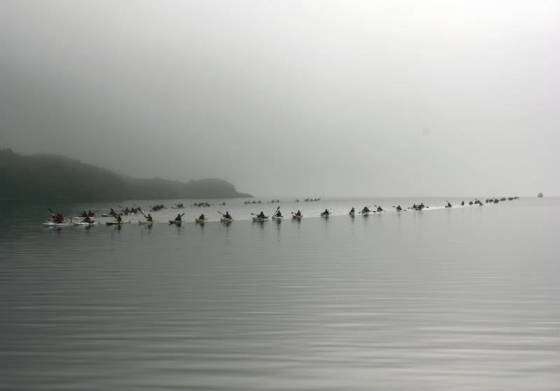 Odd-Eirik Einarsen,  © www.askr.no, Paddling in the fog