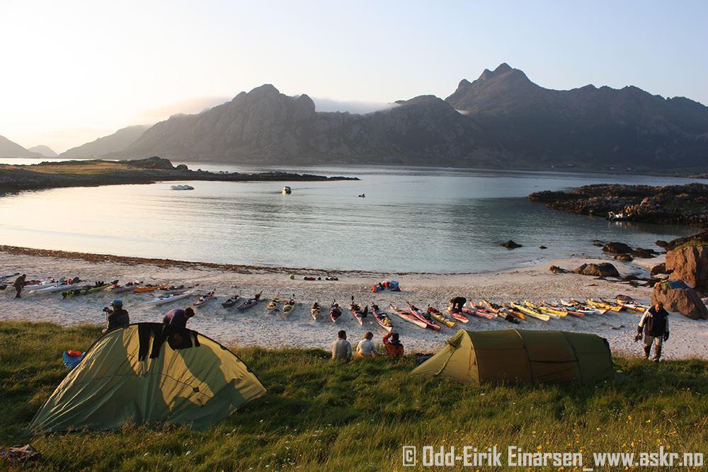 Odd-Eirik Einarsen,  © www.askr.no, Camping at Sørsand, Bø