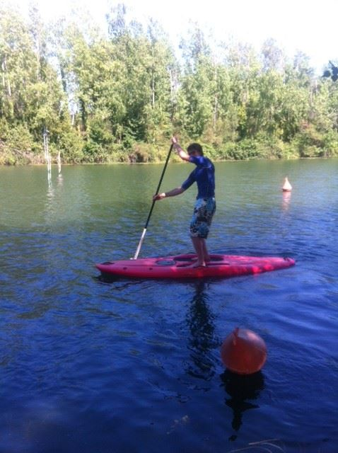 Unusual Montpellier: hire stand-up paddle