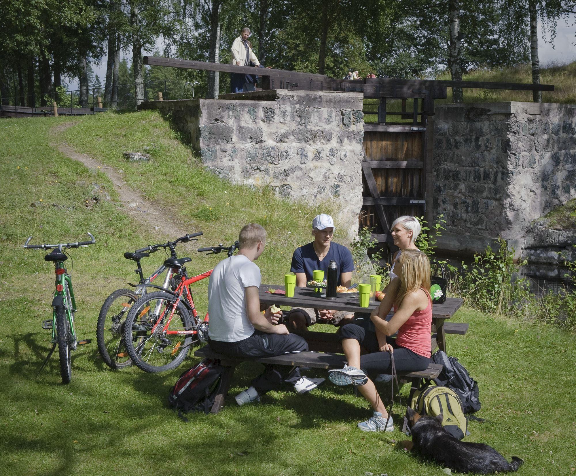 Cykeluthyrning, Husbyringen, Stjärnsund