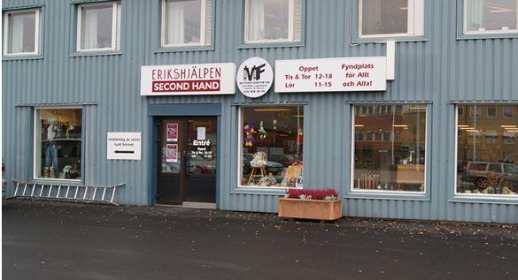 Erikshjälpen Ånge - thrift store