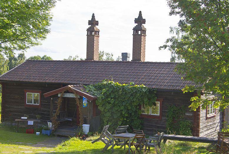 Visning av Gustaf Ankarcronas Holen i Tällberg