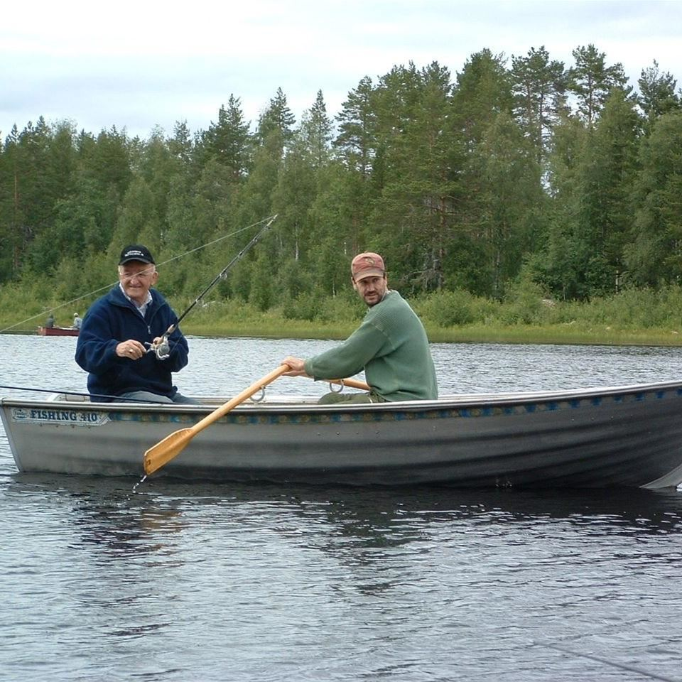 Äventyrsfiske vid Farm Backsjön