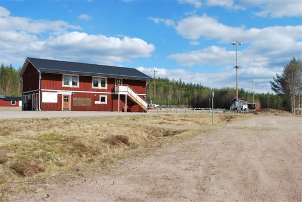 Snöå Skidstadion Dala-Järna
