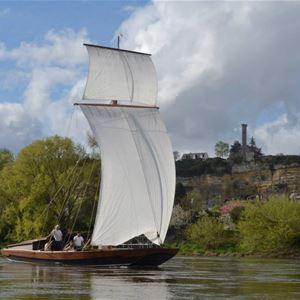 Balade découverte sur la Loire Rochecorbon > Vouvray avec la Rabouilleuse