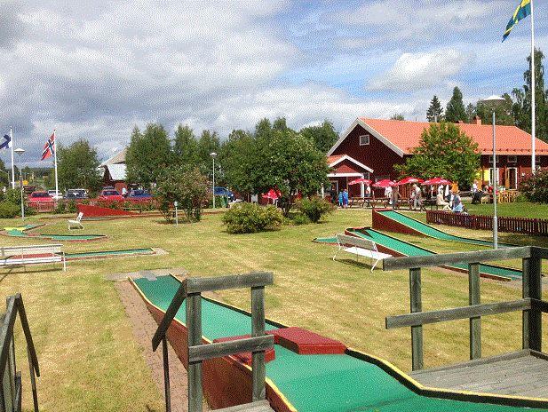 Minigolf at Tavelsjö