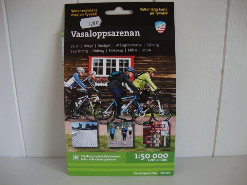 Vasaloppsarenan - Cykel och vandringskarta