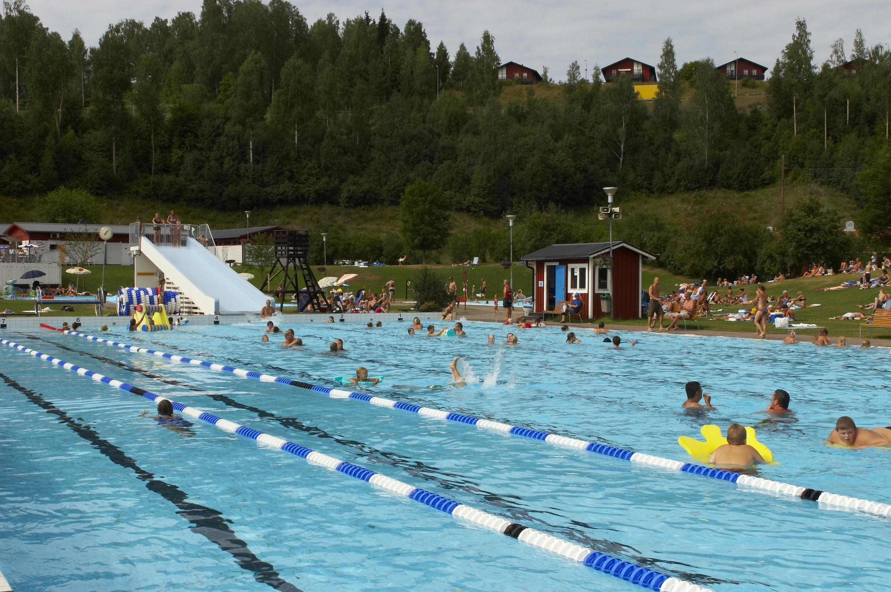 Foto: Peder Eriksson, Risön stora bassängen