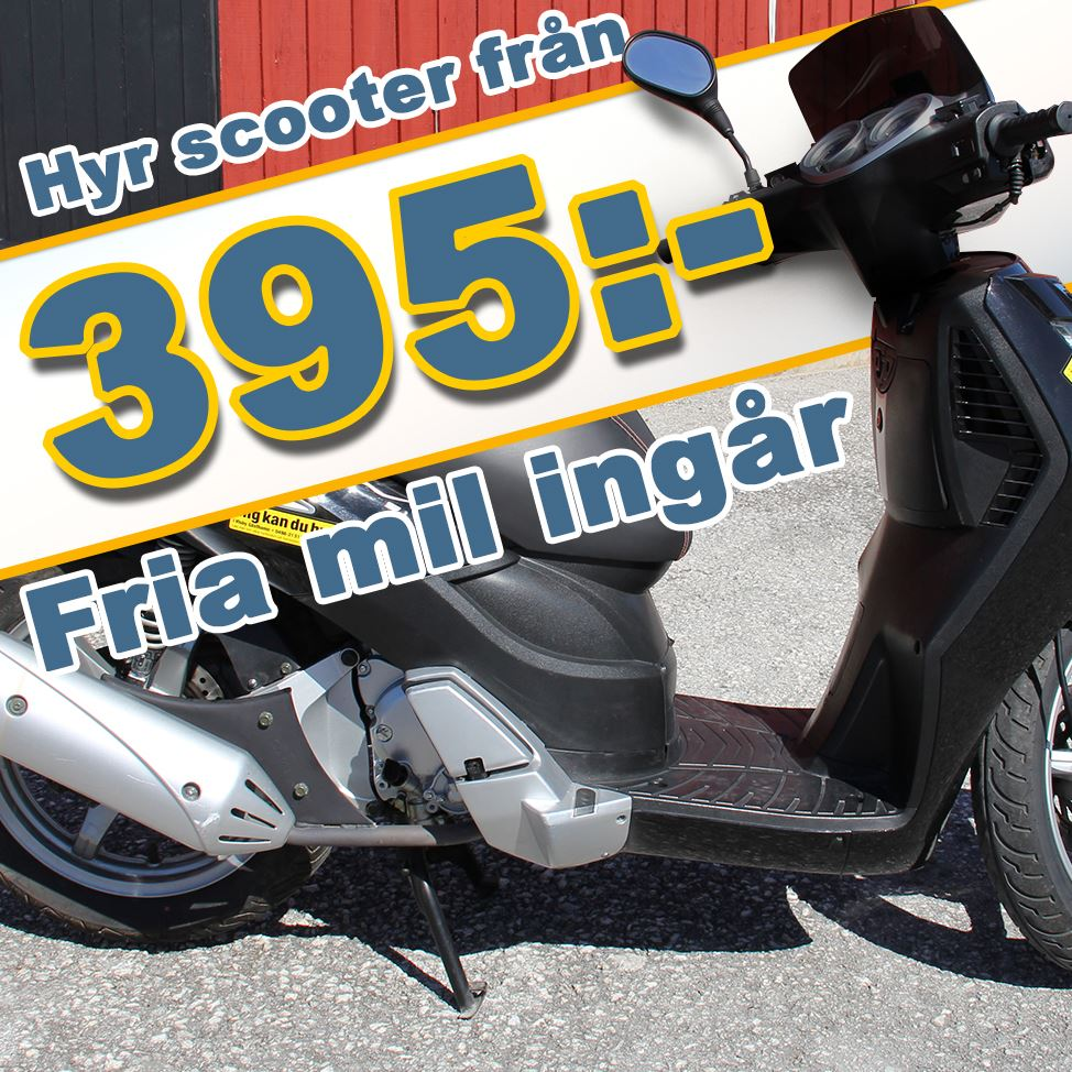 Visby Harbour Moped Rental