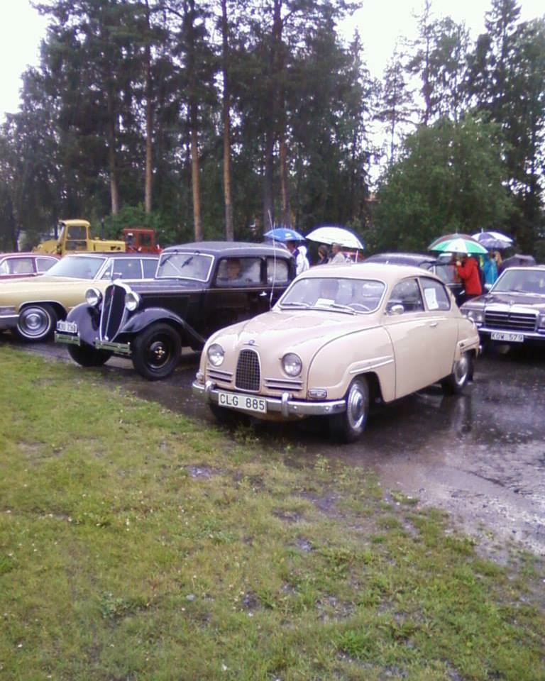 Besökarservice Bjurholm,  © Bjurholms kommun, Veteranbilar