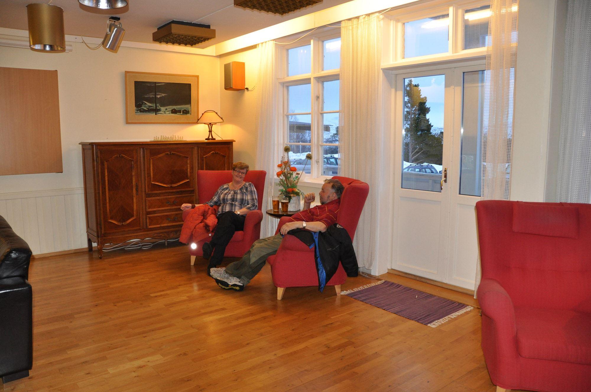 Peisstue på Saltfjellet Hotell Polarsirkelen