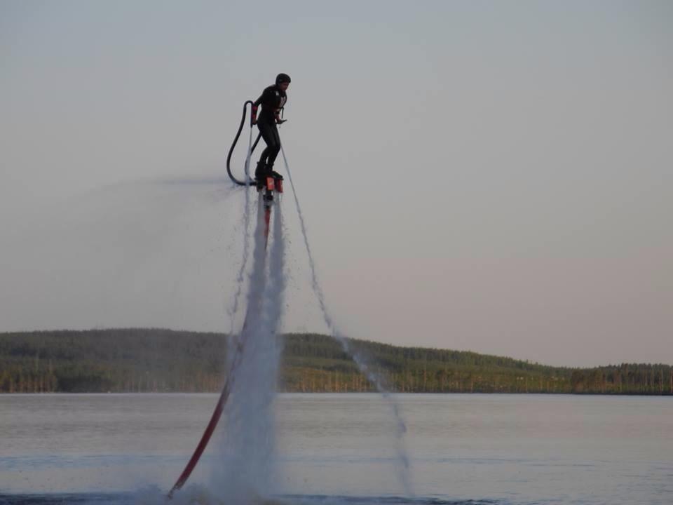 Prova på Flyboard med Balfors Event