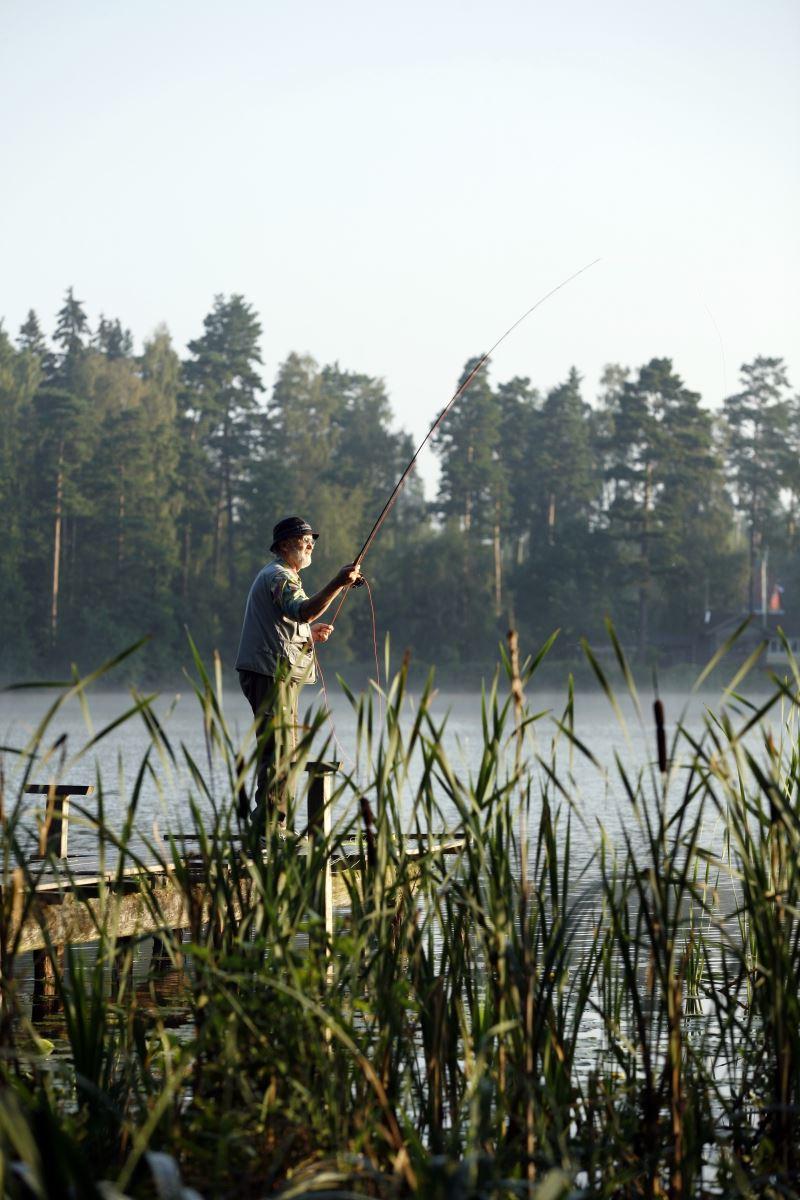 © Smålandsbilder.se, Fiske i Gislaved. Foto: Smålandsbilder.se