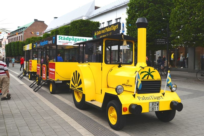 Ride with the Palmtrain