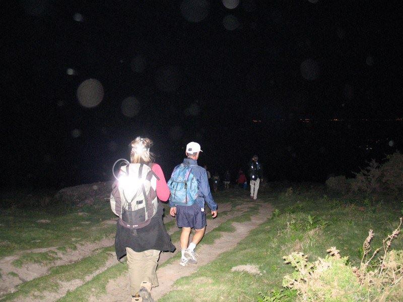 Terre et Côte Basques Rando nocturne Ascain