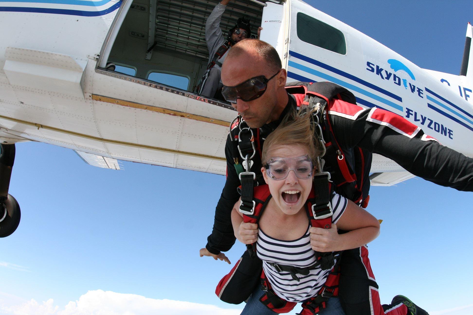 Chutextrem: salto en paracaídas tandem