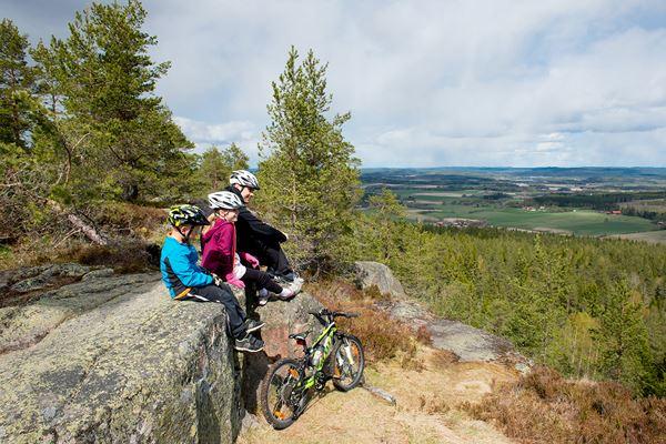 Cykeltur Säterdalen - Bispbergs klack 13 km