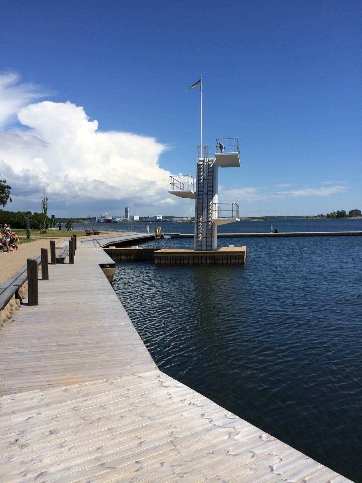 Stumholmens badplats Karlskrona