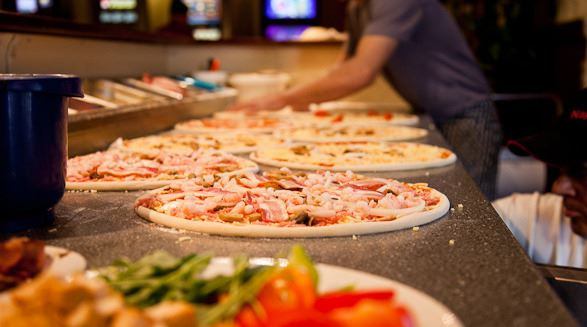Restaurant and pizzeria Napoli, Olofstrom