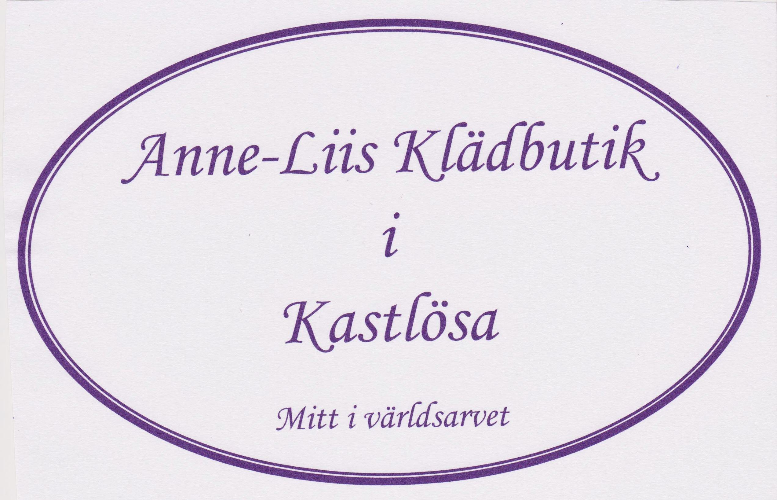 Anne-Liis Klädbutik - Kastlösa
