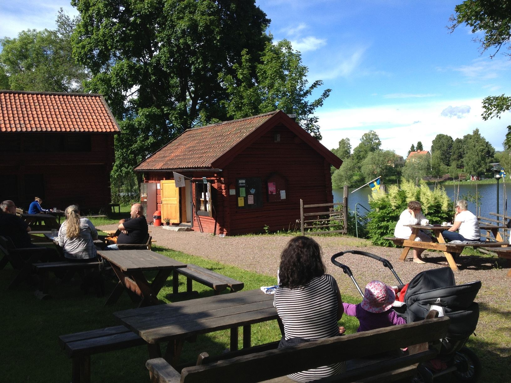 Café, Hedemora Gammelgård