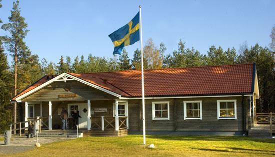 SOK Aneby, Skid- och orienteringsklubbens klubbstuga vid Furulidsområdet