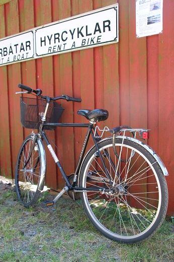 Hyra cykel på Dalskärs Camping