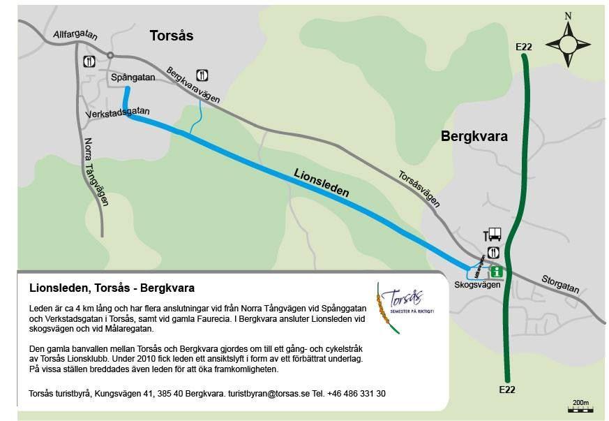 """Joanna Kohnen, Lionsleden (""""The Lions trail"""") Torsås-Bergkvara"""