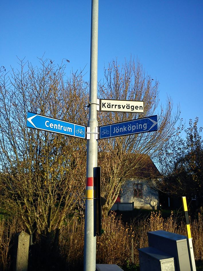 Cykelled Ebbarp - Klerebo, Habo