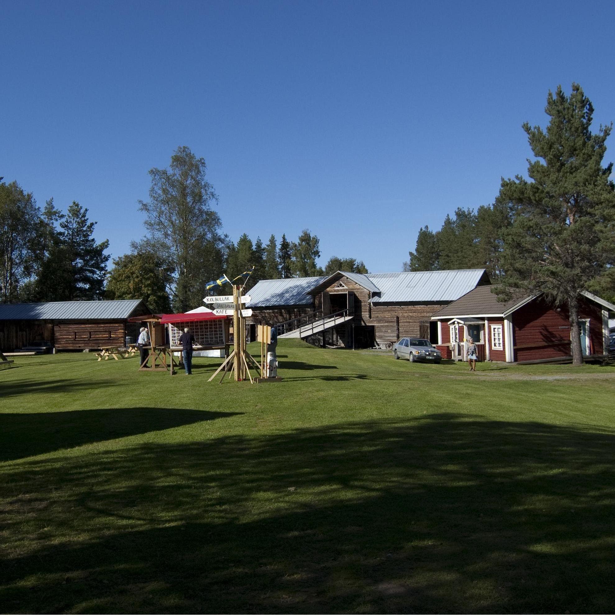 Hembygdsgården i Ramsele