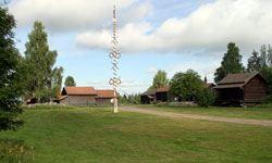 Friluftsgudstjänst på Sollerö Hembygdsgård