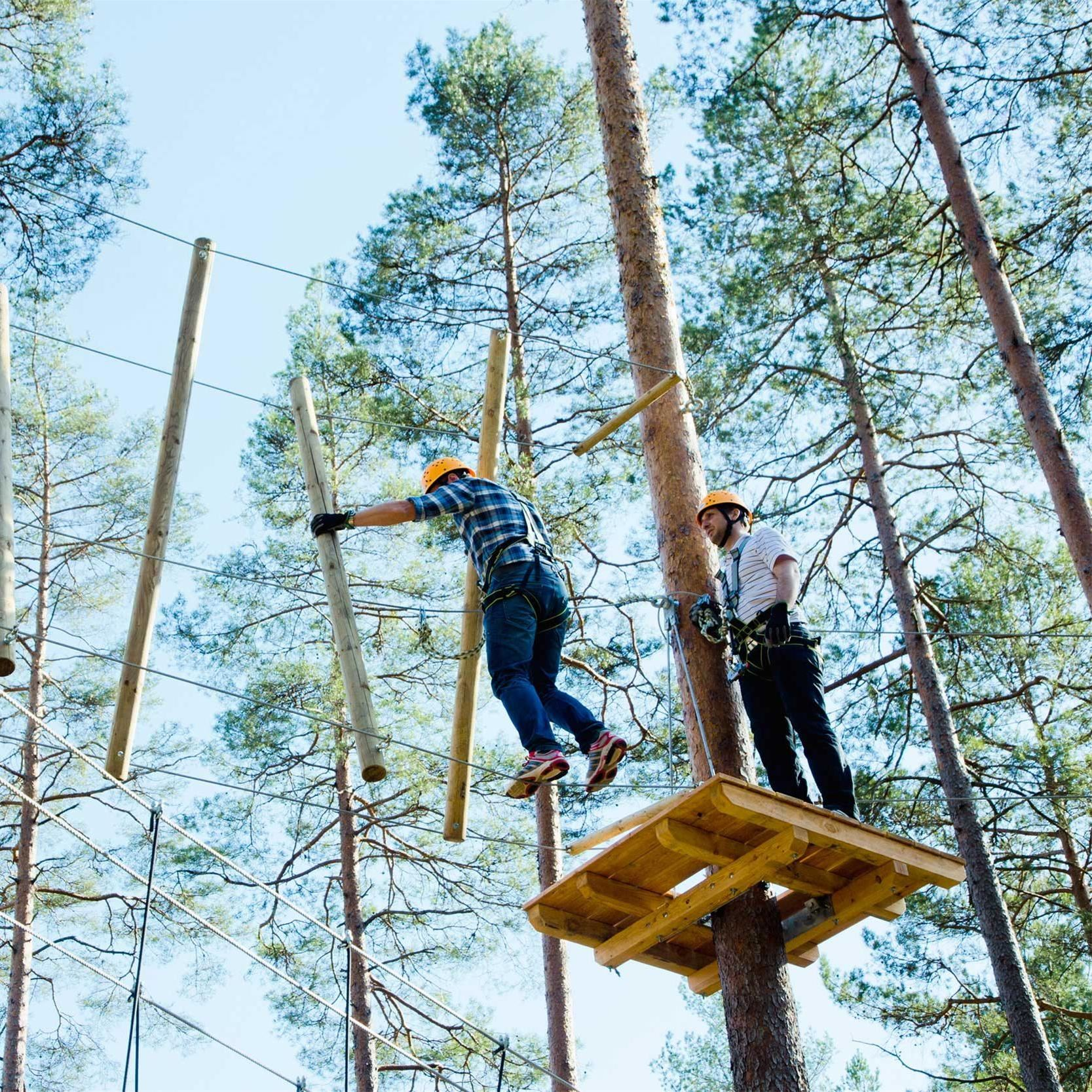 Isaberg Tree Top Adventure,  © Värnamo Näringsliv AB, Isaberg Tree Top Adventure