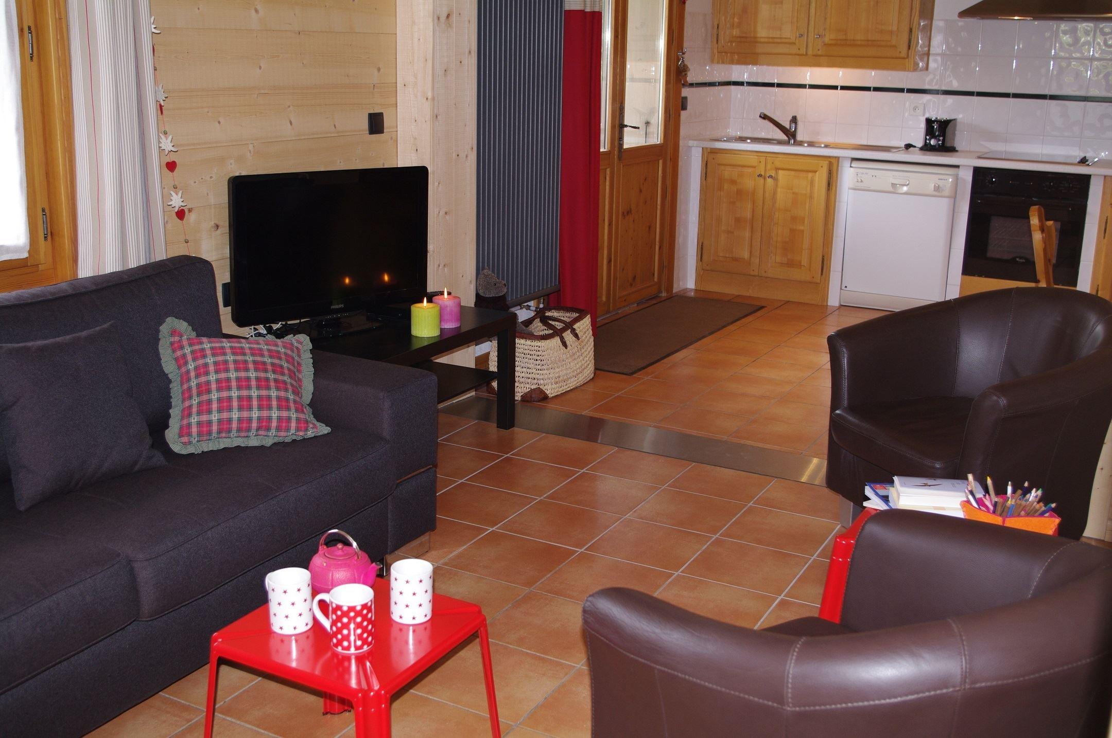 Arolle (Bouquetin) - 3 спальные комнаты - 7 человек - 90 м²