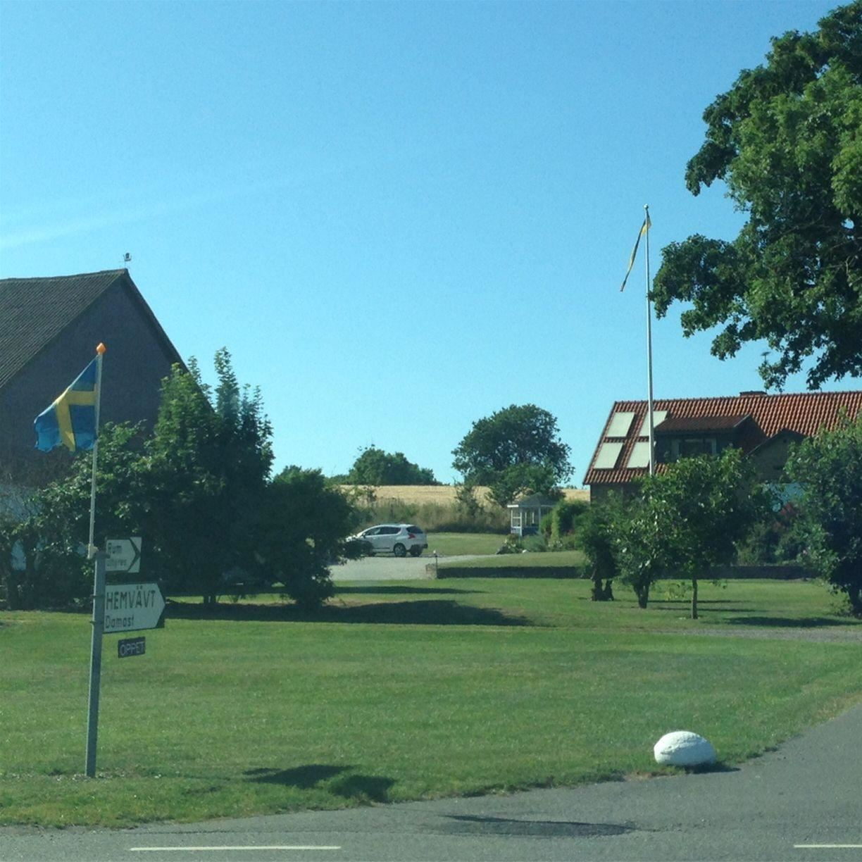 Hemvävt från Hammarlunda