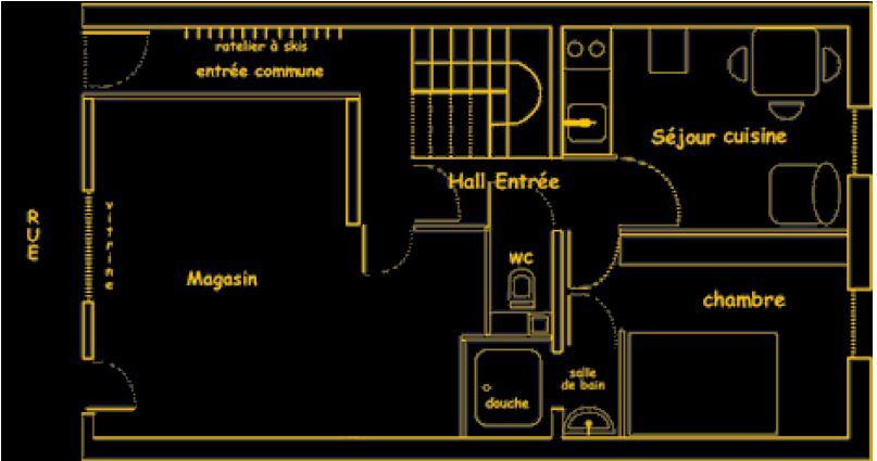 FLEUR DE NEIGE (Флер де Неж): Апартаменты n°1