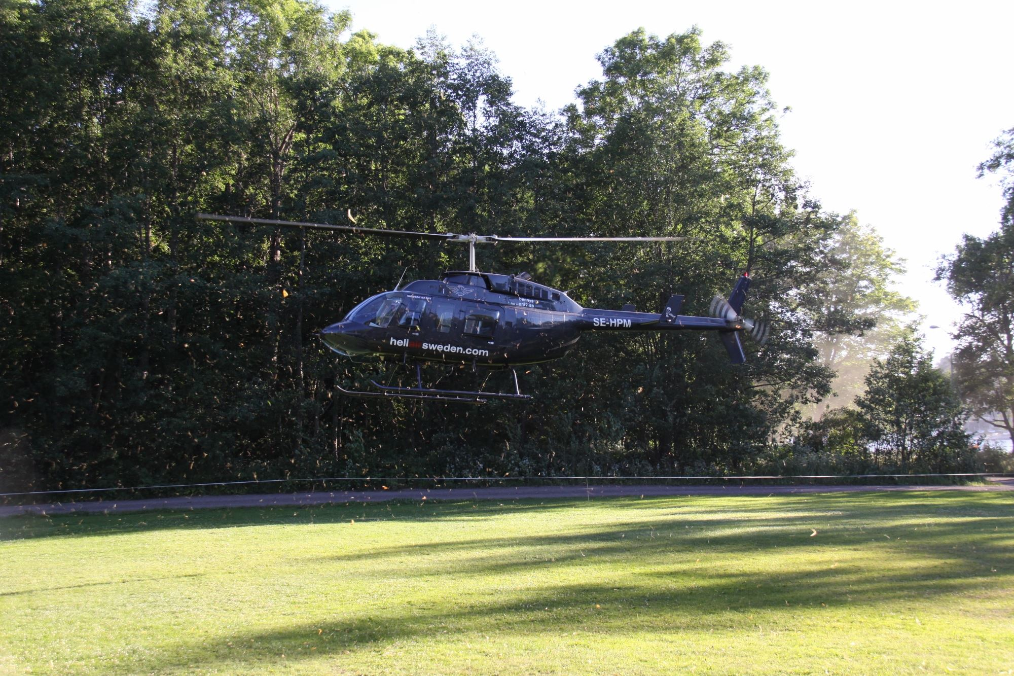Anders Jackvi,  © Anders Jackvi, Helikopterflygning!