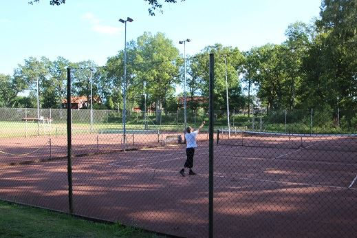 Tennisbana i Torsås