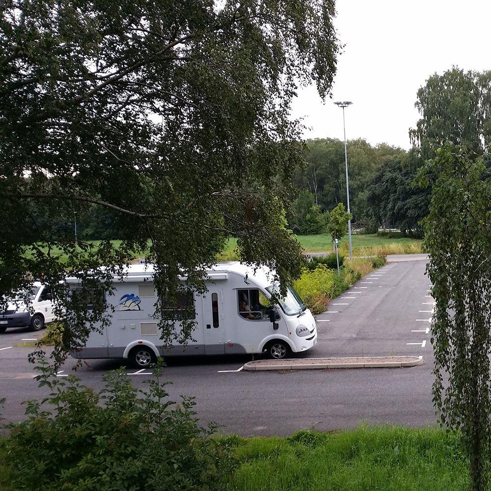 Parkeringsplats för husbil - Sommarlust Kristianstad