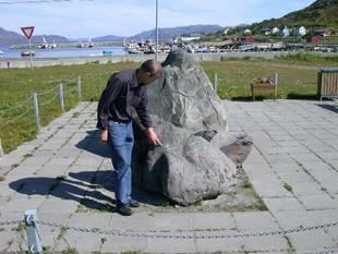 Rock carvings in Kvalsund