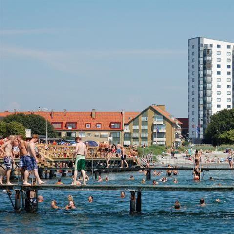 Foto Ebba Sjöborg, Kvickbadet i Höganäs