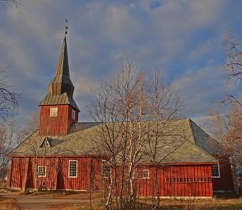 © Kjell Johansen, Kautokeino Church