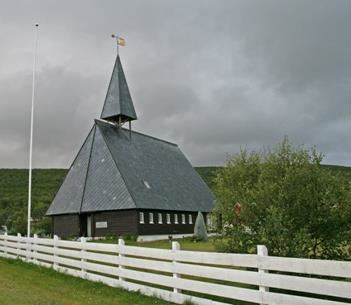 Kjell Johansen,  © Kjell Johansen, Lebesby kirke