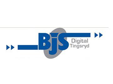 © Bjs Digital Tingsryd officiella logga, Bjs Digital Tingsryd