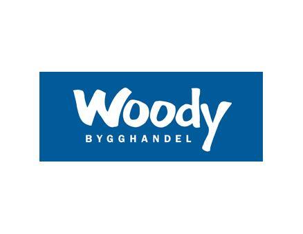 © Woodys officiella logga, Lindgrens Bygg & Järn - Woody