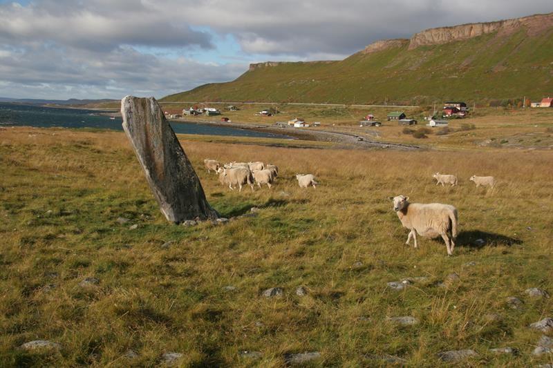 © Mortensnes kulturminneområde, Mortensnes Cultural Heritage Site
