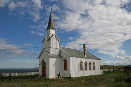 Kjell Johansen,  © Kjell Johansen, Nesseby Church